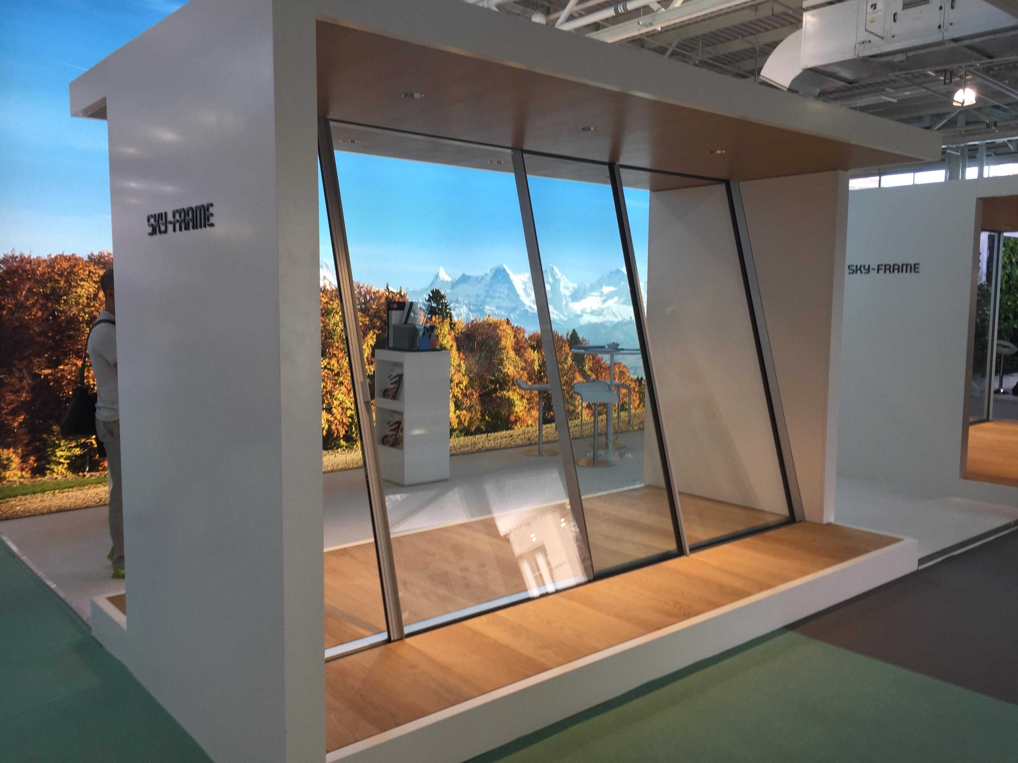 Minimal Frame Glazing by Sky-Frame   Alco Glass Systems